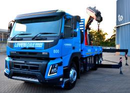 Lovemore Bros 80tm Crane Truck