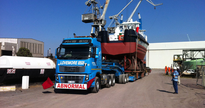 Lovemore Bros abnormal loads