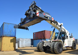 Lovemore Bros Terex Reach Stacker
