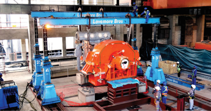 Lovemore Bros Machine Lifting Rigging