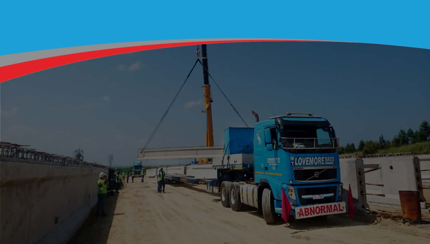 Lovemore Bros Machine movers, rigging and abnormal load
