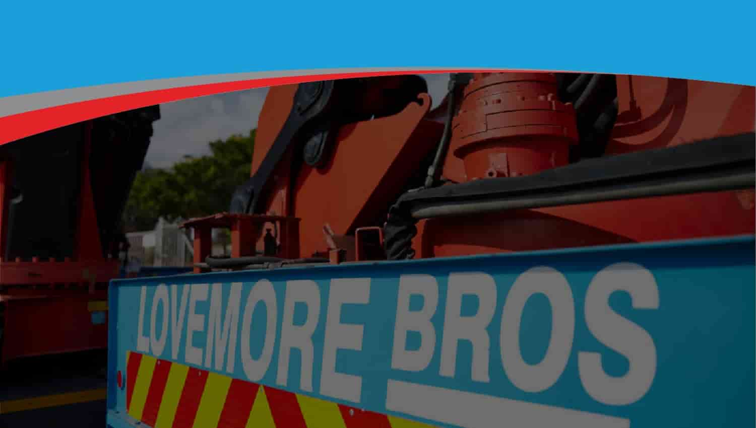 Lovemore Bros Machine movers, rigging and heavy lifting