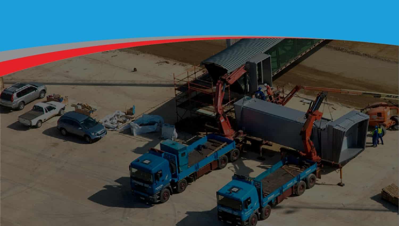 Lovemore Bros Warehousing Crane Trucks